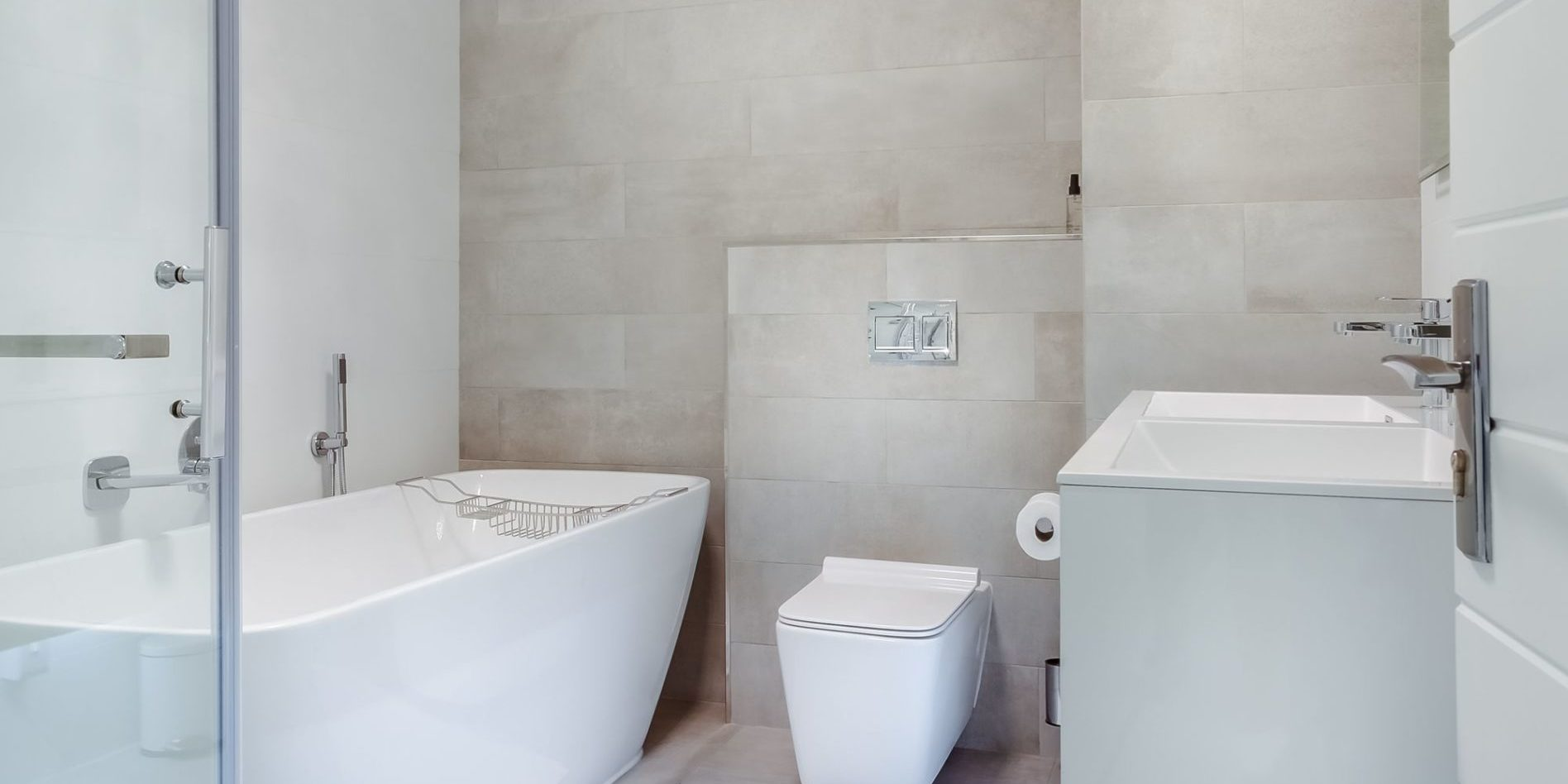I had the privilege of photographing a recently renovated apartment on the Cape Coast and this is an image of  an en-suite bathroom lit by it's skylight.